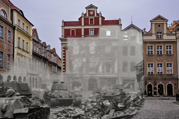 Radzieckie T-34 na Starym Rynku (fot. Piotr Oźima/Pomost)