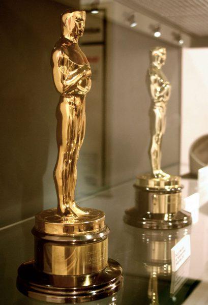 Statuetki Oscarów z różnych lat (fot. Jose Manuel Mazintosh)