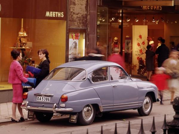 Saab 96 model 1967 (fot. Saab)