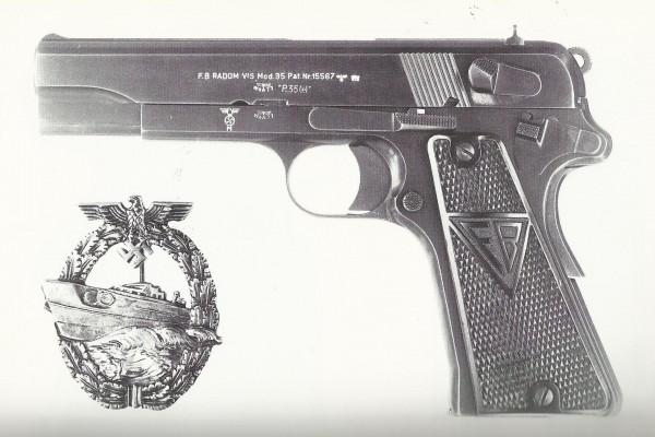 Pistolet wz. 1935 Vis produkcji niemieckiej