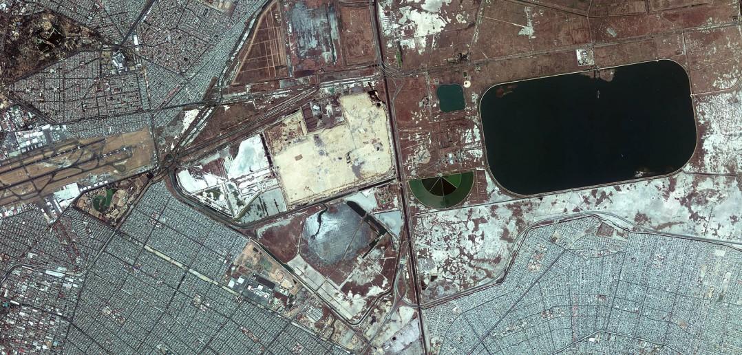 Mexico City - zdjęcie z 18 lipca 2014 roku (fot. ESA)
