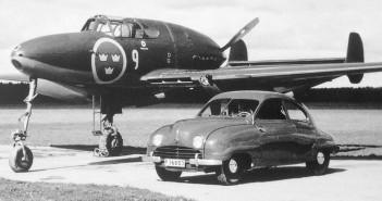 Szwedzki myśliwiec Saab 21