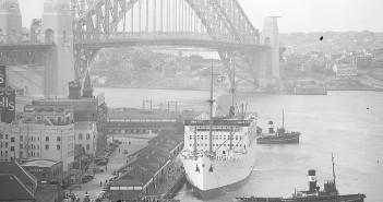 Harbour Bridge - Sydney - 1932 - zdjęcie
