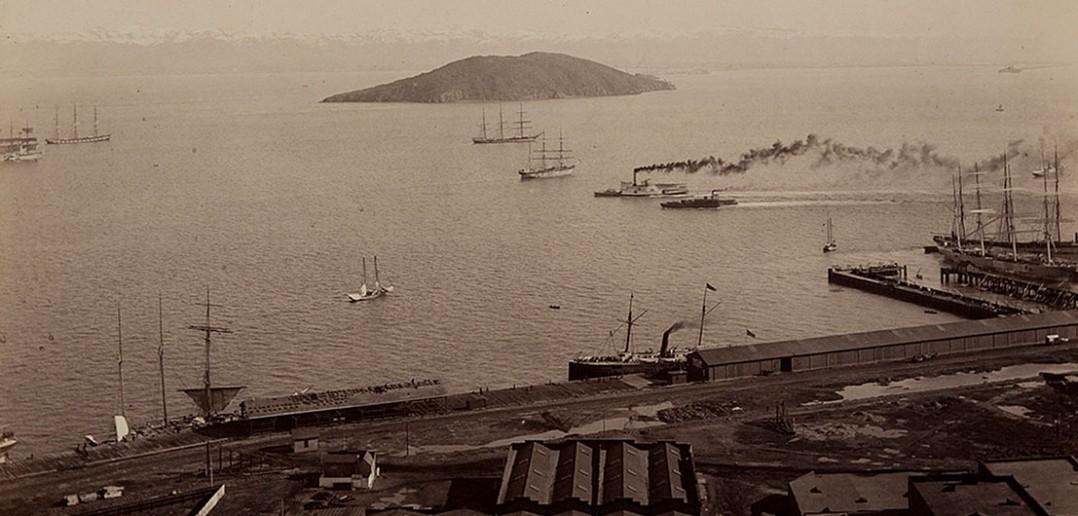 Yerba Buena Island - San Francisco 1880 - zdjęcie