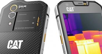 CAT S60 - smartfon z kamerą termowizyjną