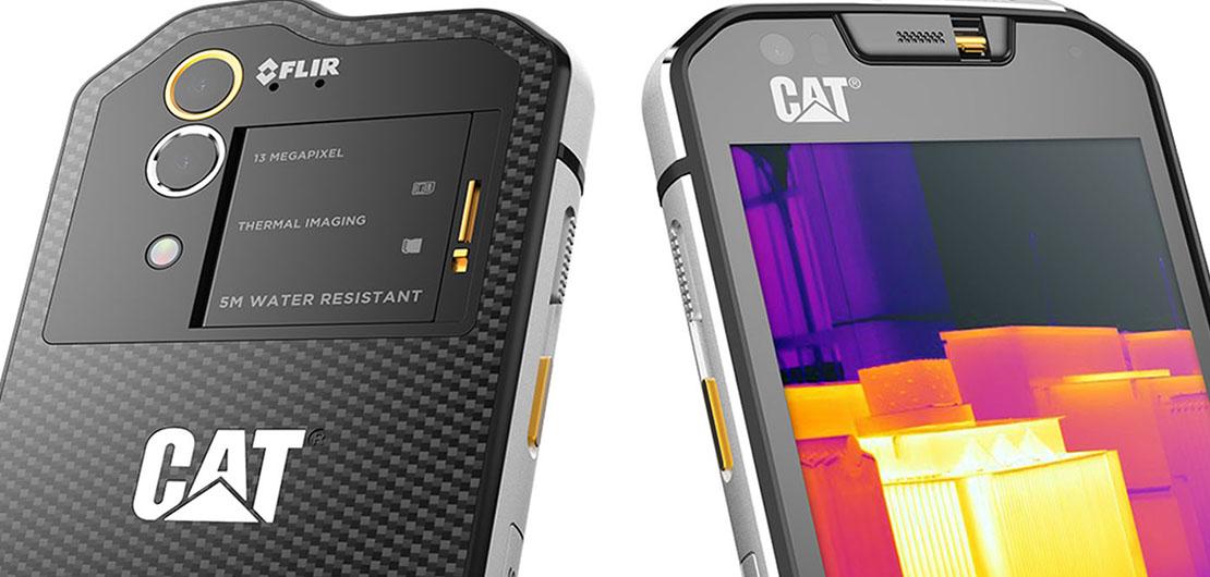 cienie zamówienie online sprzedaż CAT S60 - smartfon z kamerą termowizyjną - SmartAge.pl