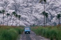 Erupcja wulkanu Pinatubo - 1991 rok - zdjęcie