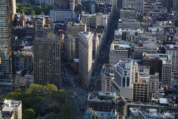 Flatiron Building współcześnie (fot. Michał Banach)