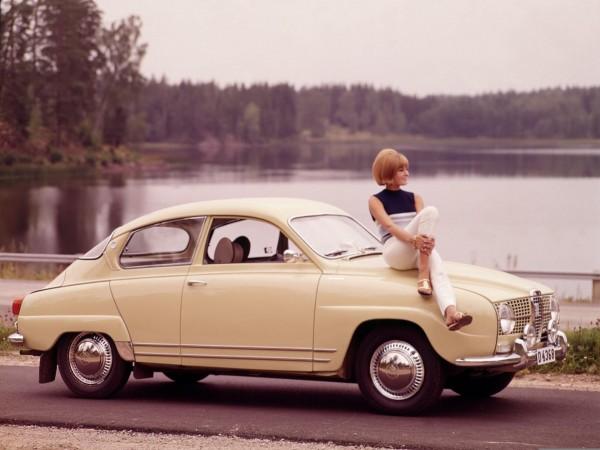 Saab 96 model 1968 (fot. Saab)