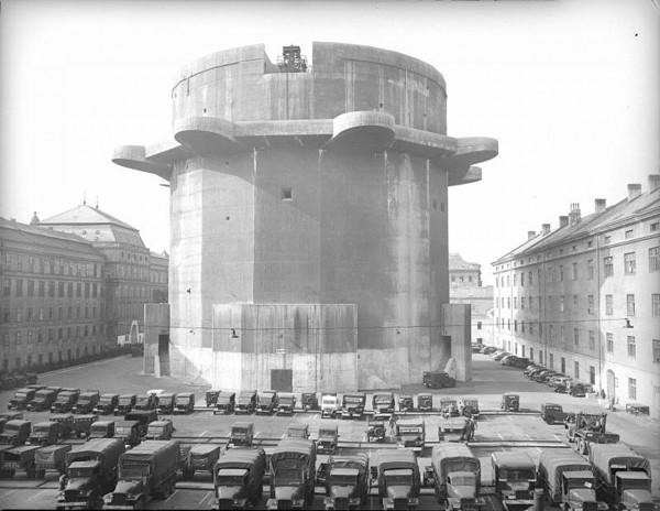 Wieża przeciwlotnicza w Wiedniu