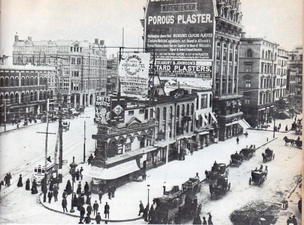 175 5th Avenue przed zbudowanie Flatiron Building