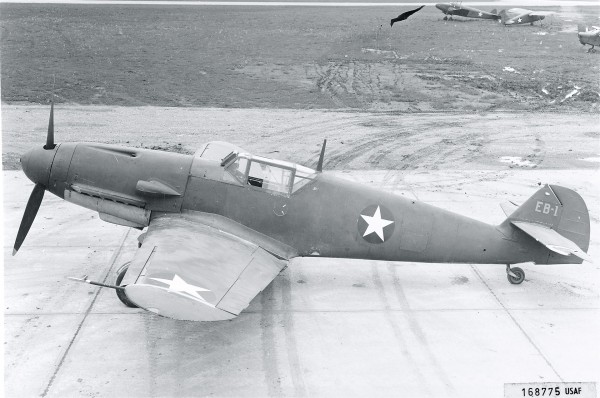 Bf-109/EB-1 - w barwach USAF