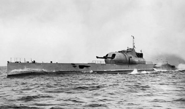 Francuski podwodny krążownik Surcouf
