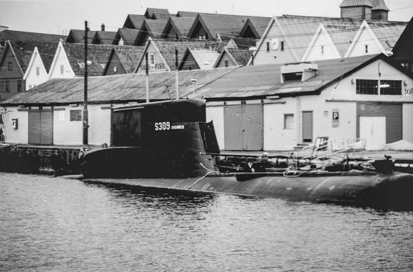 Norweski okręt podwodny typu 207 - Svenner