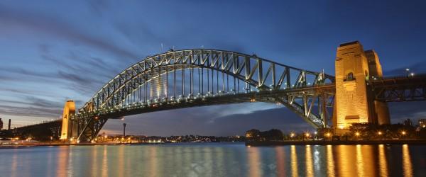 Sydney Harbour Bridge współcześnie (fot. Adam.J.W.C.)