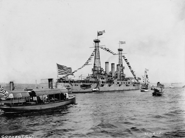USS Connecticut (fot. U.S. Naval History and Heritage Command Photograph)