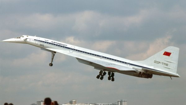 Tupolew Tu-144 (fot. clipperarctic/Wikimedia Commons)