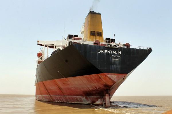 Oriental Nicety (ex. Exxon Valdez w Indiach gdzie miał być złomowany. Ostatecznie operacje przeprowadzono w Bangladeszu