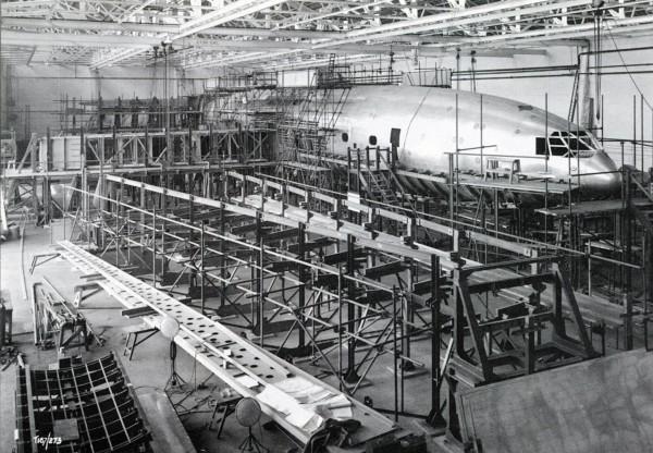 Bristol Brabazon w trakcie budowy