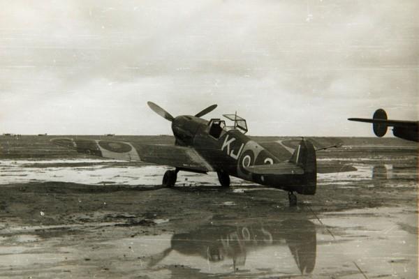 Bf-109F w barwach RAF