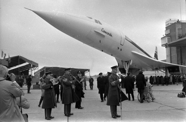 Prezentacja Concorde (fot. Wikimedia Commons)