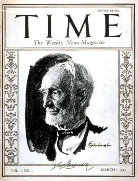 Pierwsze wydanie tygodnika Time