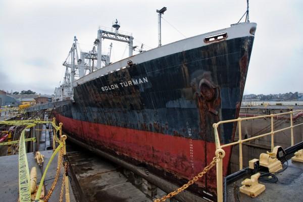 SS Solon Turman w 2012 roku (fot. Amy Heiden)