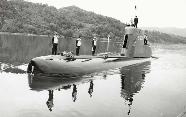 Norweski okręt podwodny typu 207 - Ula