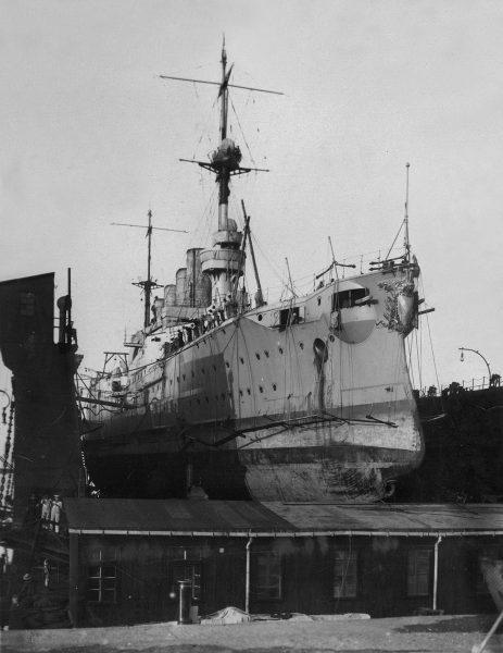 Niemiecki krążownik pancerny SMS Scharnhorst