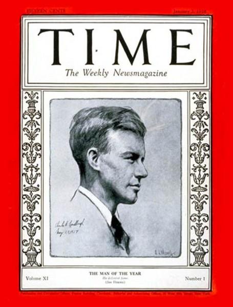 Pierwsze wydanie tygodnika Time z charakterystyczną czerwoną ramką