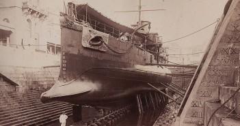 Taranowce torpedowe HMS Polyphemus i USS Intrepid