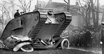 Czołgi z I wojny światowej w akcji - film