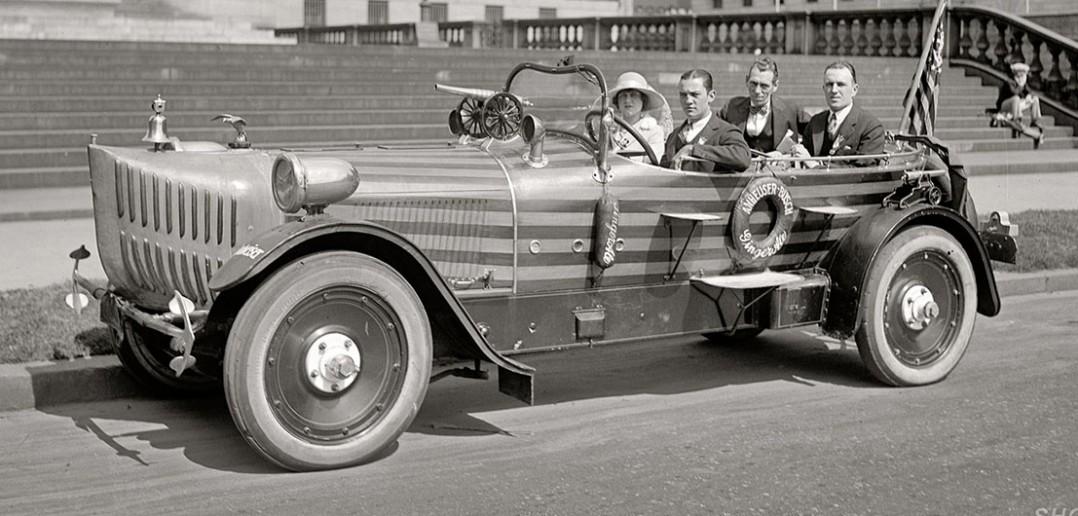 Budmobile - samochody reklamowe z lat 30-tych - zdjęcia