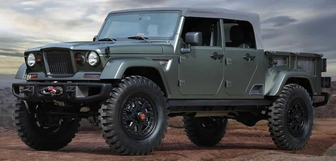 Easter Jeep Safari 2016 – koncepcyjne modele Jeepa