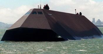 Sea Shadow - eksperymentalny okręt w technologii stealth