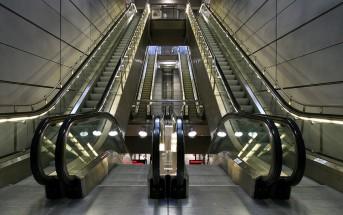 Krótka historia ruchomych schodów