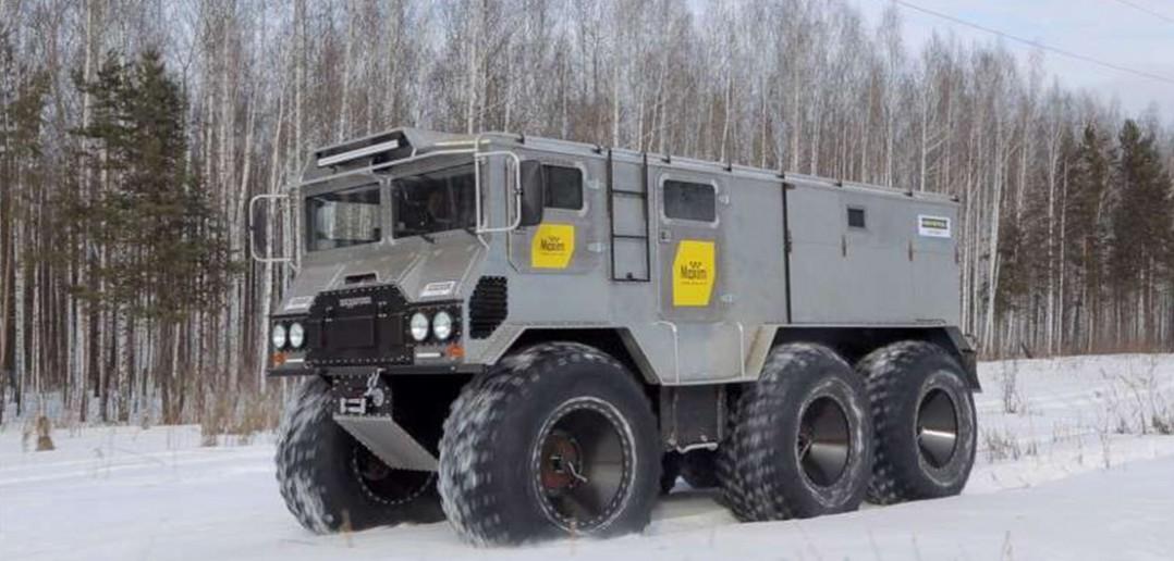Burłak - nietypowa rosyjska ciężarówka