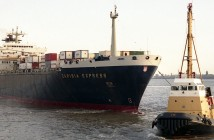 Caribia Express - pierwszy zbudowany w Polsce kontenerowiec