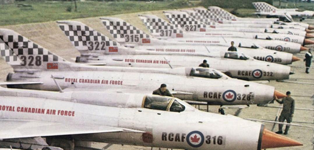 Kanadyjskie MiG-i-21 - zdjęcie