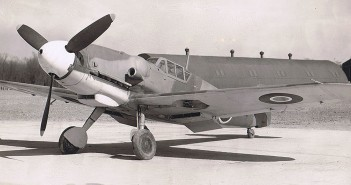 Messerschmitty Bf-109 w barwach RAF i USAF