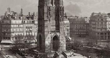 Wieża Saint Jacques w Paryżu - zdjęcie