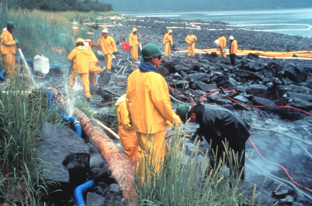 the devastation of the small communities by the exxon valdez oil spill in mei mei evans oil and wate
