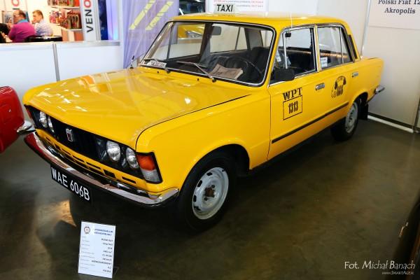 Polski Fiat 125p TAXI
