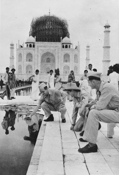 Tadź Mahal w 1942 roku (fot. Library of Congress)