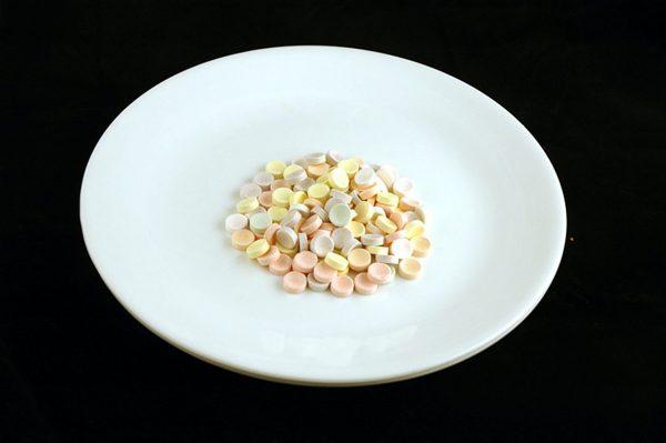 57 g cukierków Smarties = 200 kalorii
