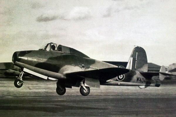 Gloster Whittle E.28/39 - pierwszy brytyjski odrzutowiec