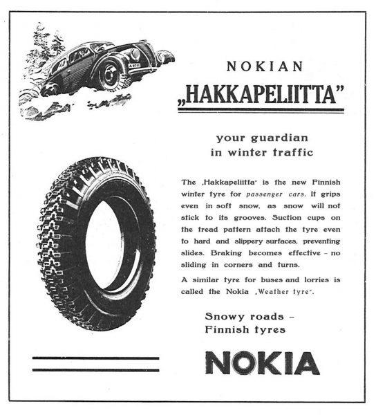 Reklamy opon Nokian