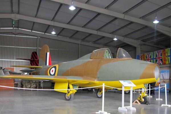 Replika samolotu Gloster Whittle E.28/39