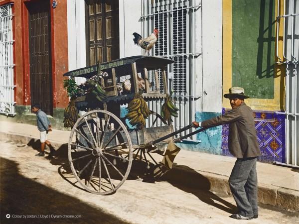 Hawana - Kuba - 1900-1906 rok (fot. Jordan J. Lloyd/www.dynamichrome.com)
