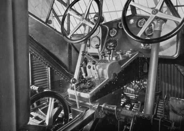 Kokpit Junkersa G.38
